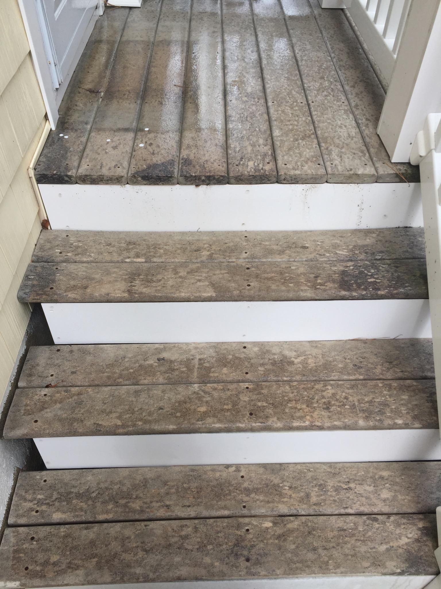 Composite Deck Looks Stained After Washing Stains Surfaces