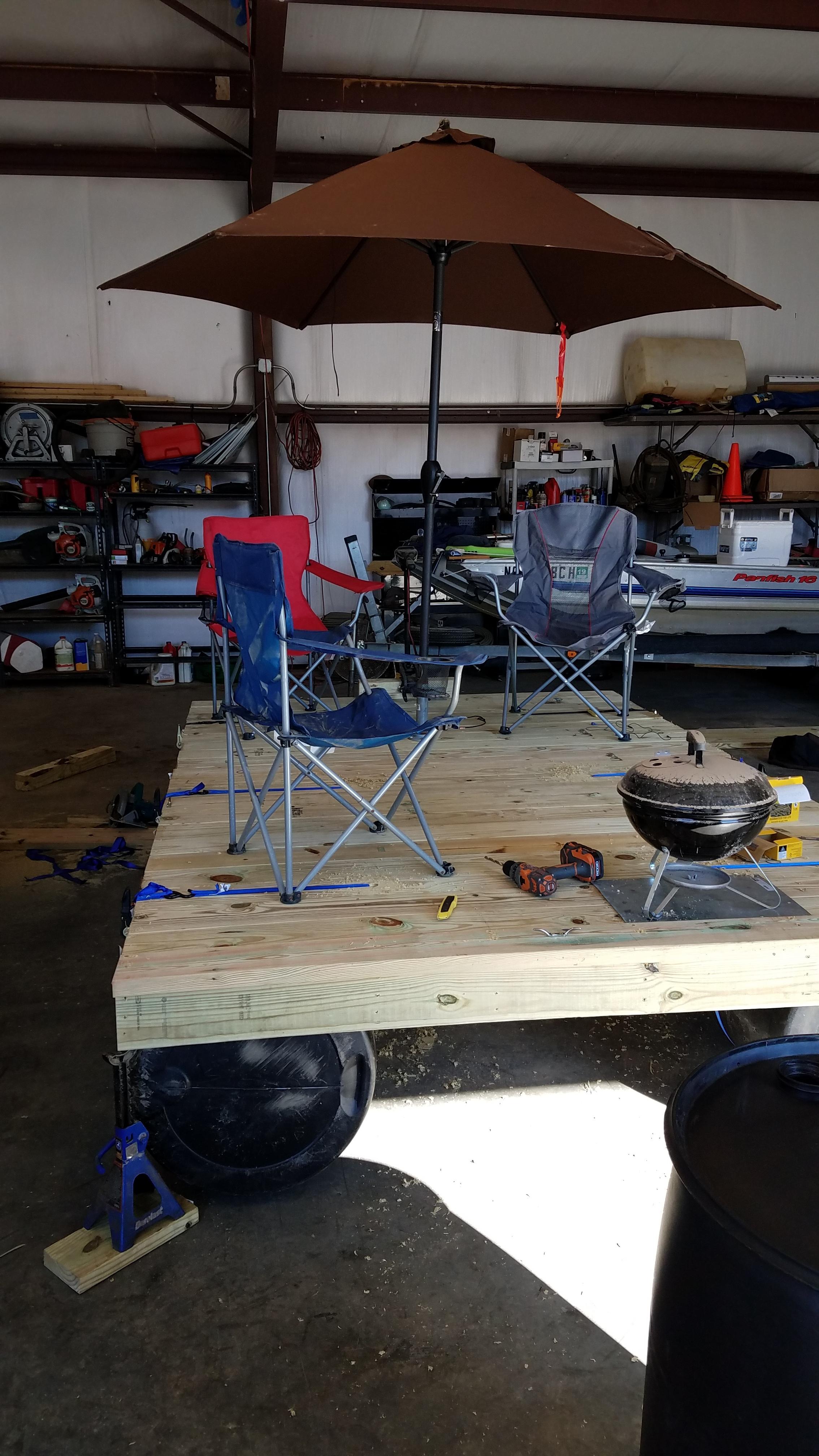 Raft Ideas Pressure Washing Resource - Picnic table raft