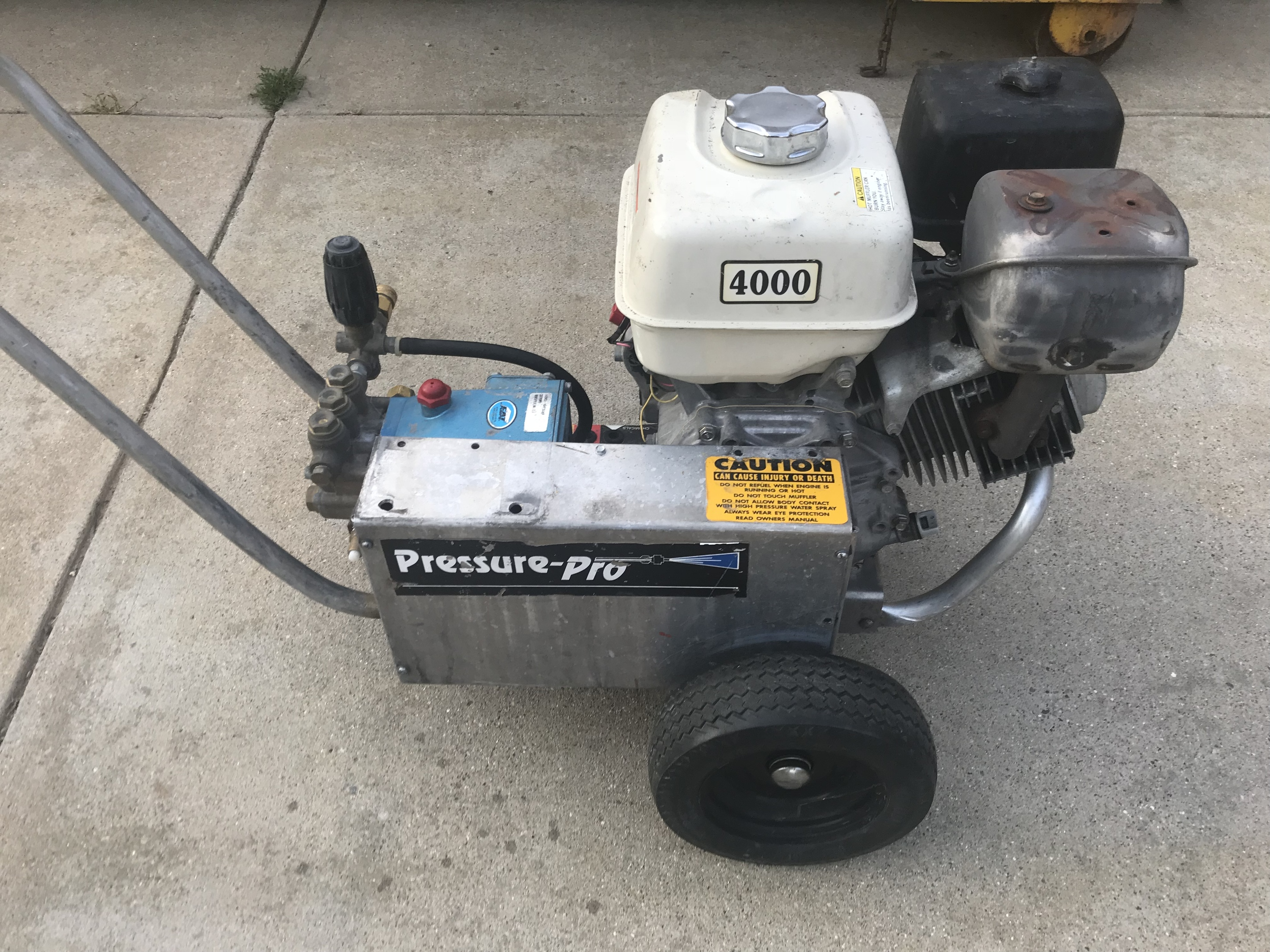 Advice on my first big boy pressure washer - Supplies