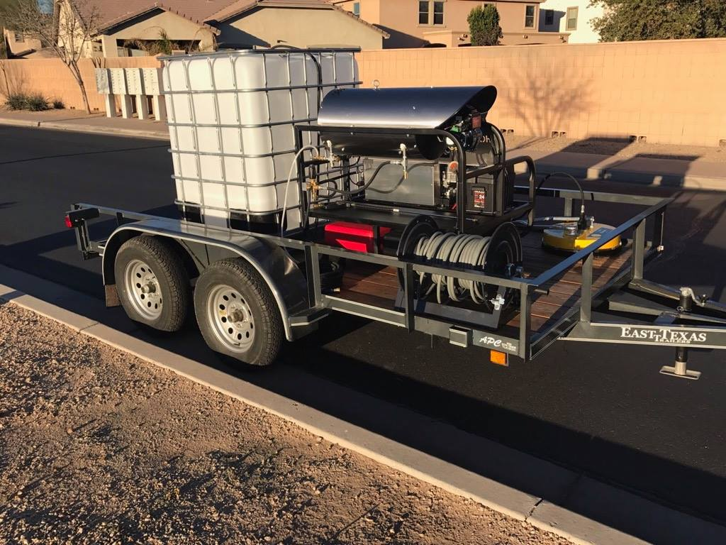 Pressure Washing Rig available for sale - Supplies