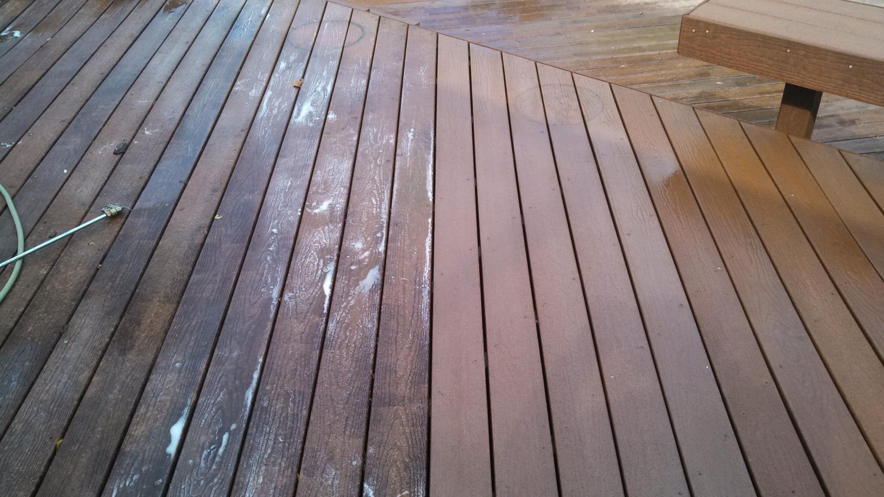 Composite Deck Cleaning Wood Restoration Pressure