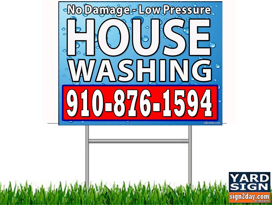 here s your sign guyb marketing pressure washing resource