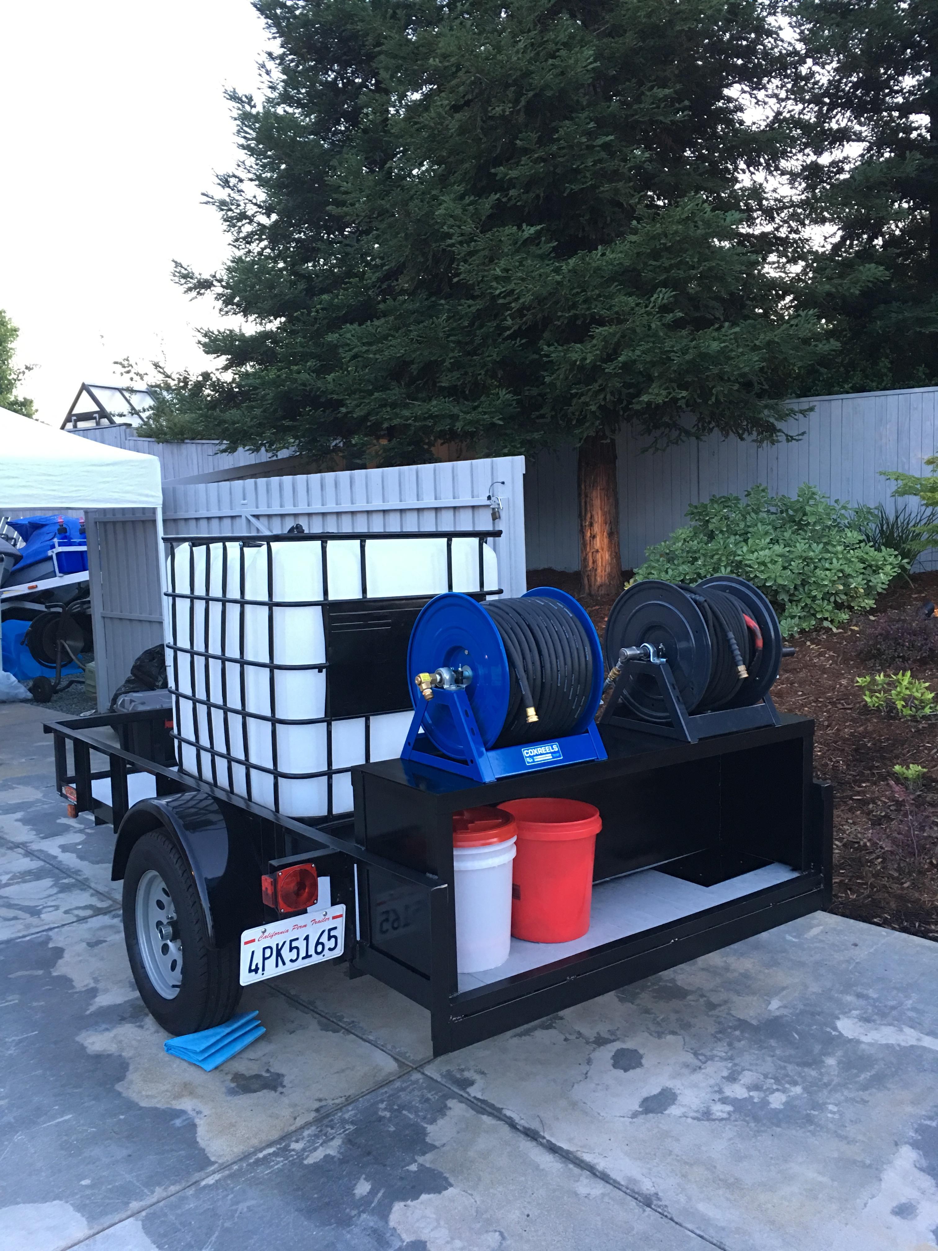 Trailer Setup Residential Pressure Washing Resource