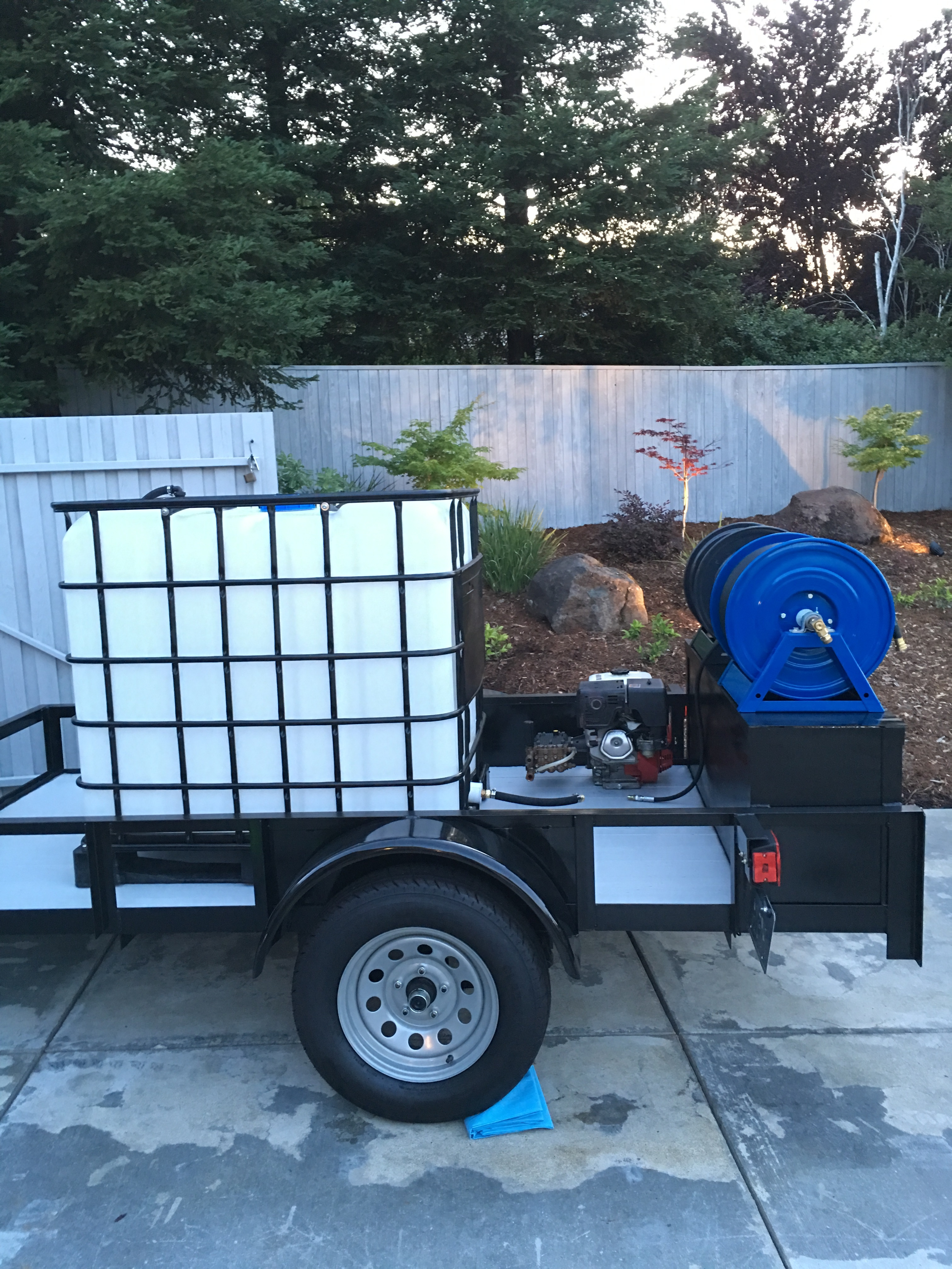 Trailer Setup Residential Pressure Washing Resource