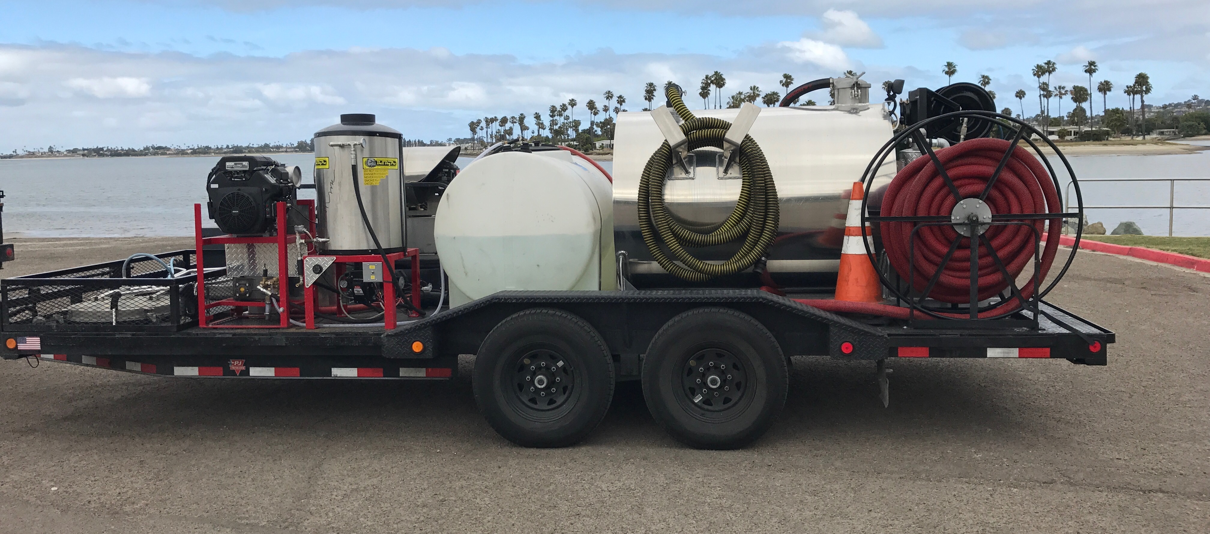 How Much Does Your Trailer With All Of Your Equipment Weigh Trailer Builds Pressure Washing Resource