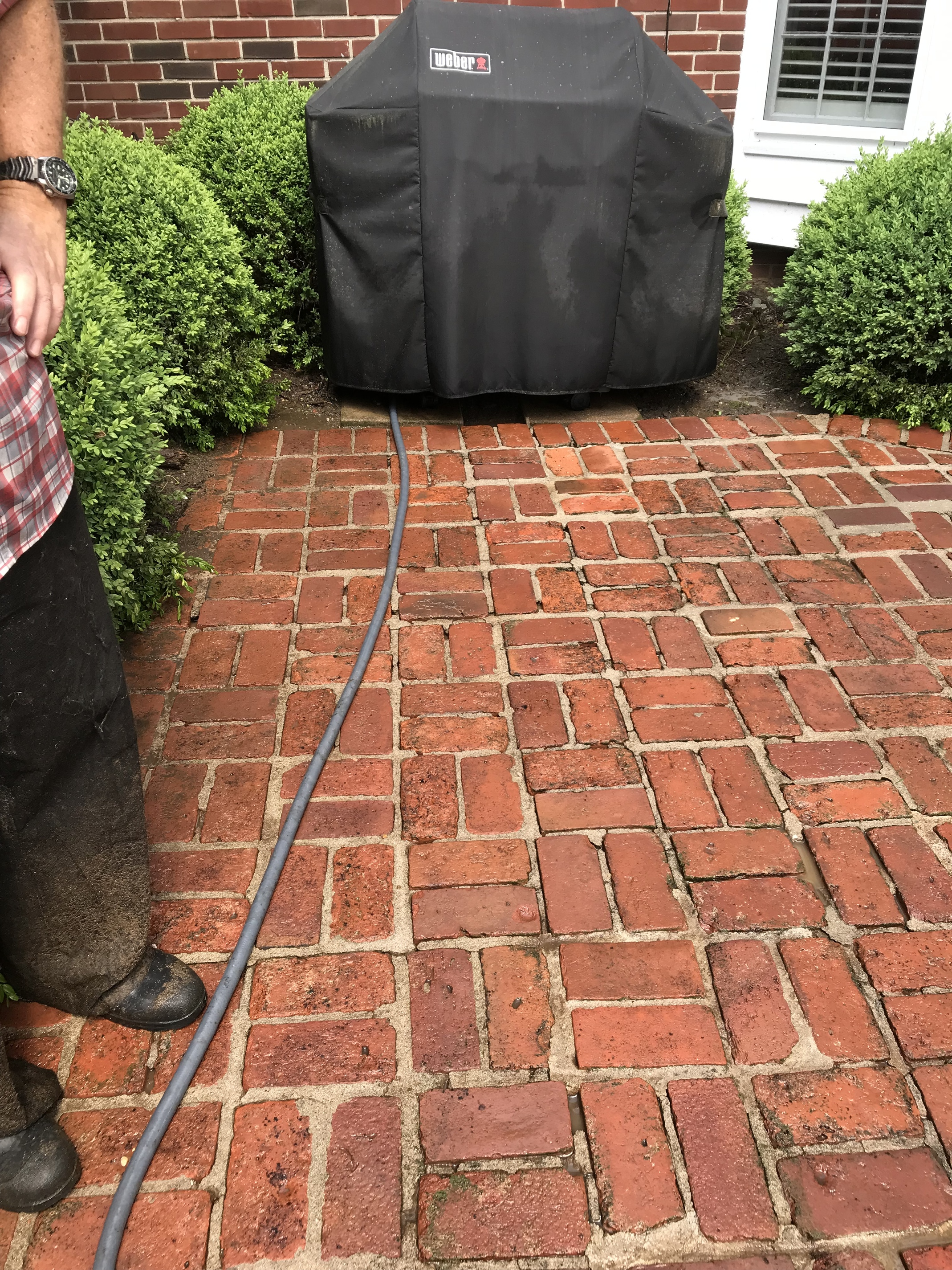 Brick Patio Have A Look Residential Pressure Washing