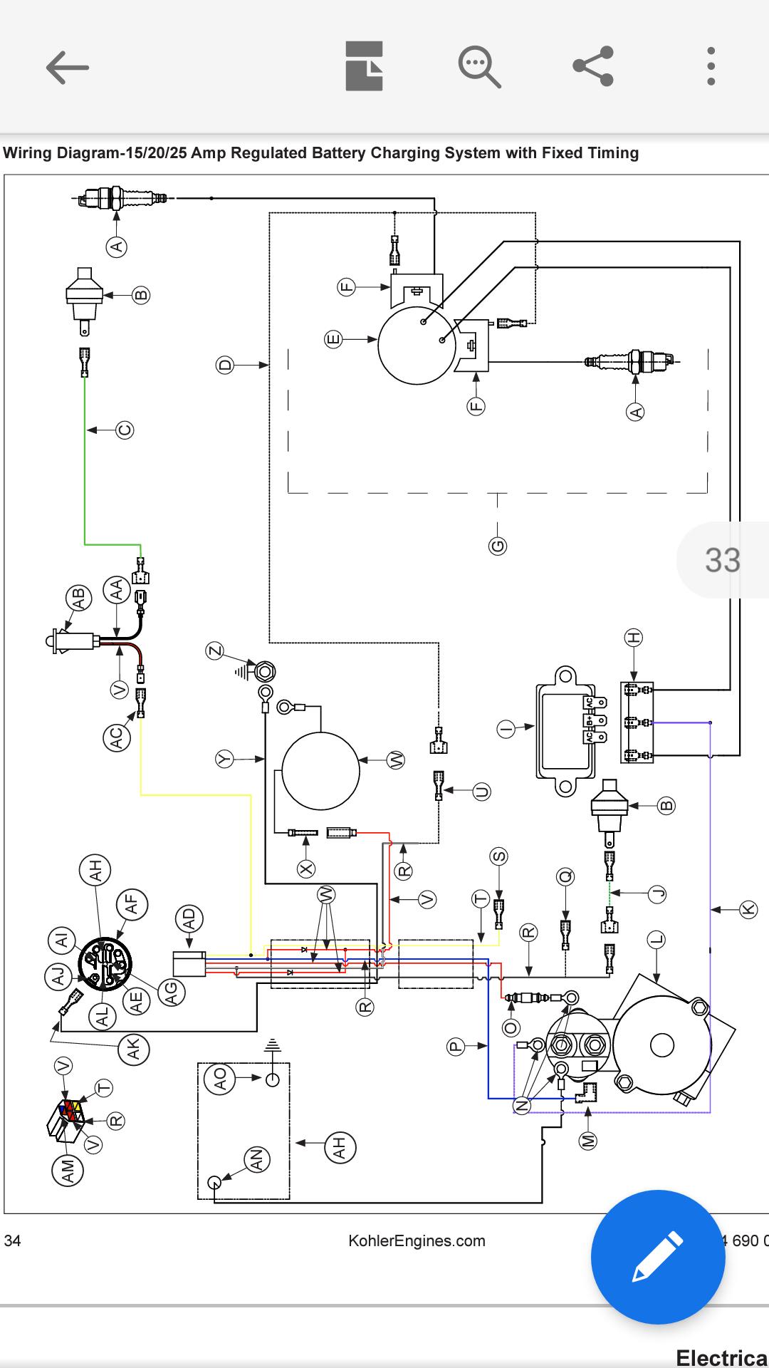 Kohler Ch20s wiring - Supplies & Equipment - Pressure Washing ResourcePressure Washing Resource
